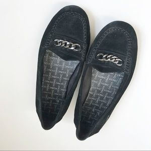 Vionic Loafers Black with metal detail 8.5